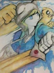 Finn And Jake by McDave19