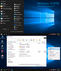 Windows 10 RTM for Xp by Hengdip