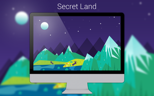 Secret Land Wallpaper by me4oslav