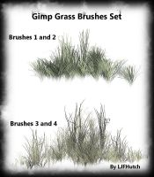 Gimp Anim. Grass Brushes Set by LJFHutch