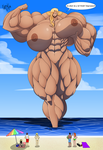 Commission - Titania at the Beach by Forsakun