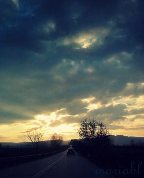 On the road by maria-bl