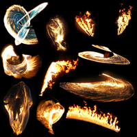 Transparent Flames Pack 3 by da-joint-stock
