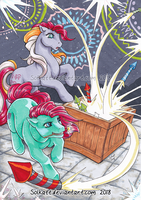 Sky Rockets by Solkatt