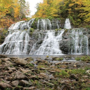 Egypt Falls in the Fall by EastCoastSnaps