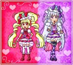 Cure MaCherie and Cure Amour by ninpeachlover