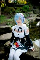 Rem and Apple2 by nuramoon