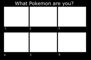 What Pokemon are you?