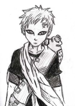 Gaara by D1ckBasterdly