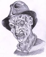 Freddy Krueger's stare by ECTO87