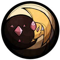 cresselia stained glass