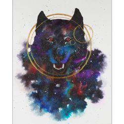 Space wolf by uhuco