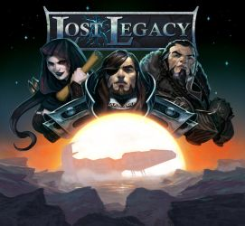 Lost Legacy-The Starship cover art by DiegoGisbertLlorens