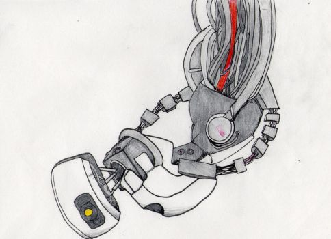 GLaDOS by Firestarocks