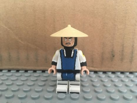 Raiden (Mortal Kombat) - Custom LEGO Minifigures by MushroomHedgehog