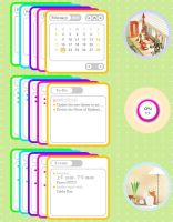 Caruso Calendars by Mulberry24