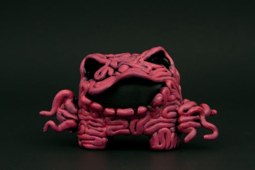 Intestine Monster Front by karmabomb1