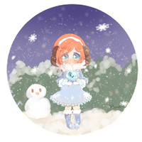 Snow Night by Bamoh-cchi