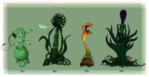 Evolution of the Triffids by Rootay
