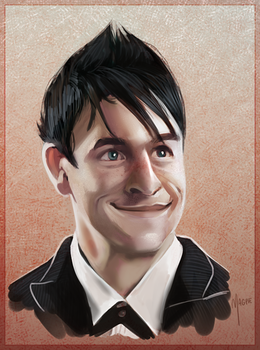 I made another Penguin portrait by The--Magpie
