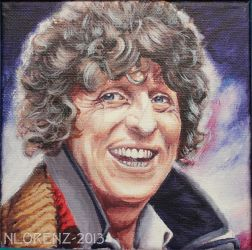 The Fourth Doctor: 50th Anniversary by napalmnacey