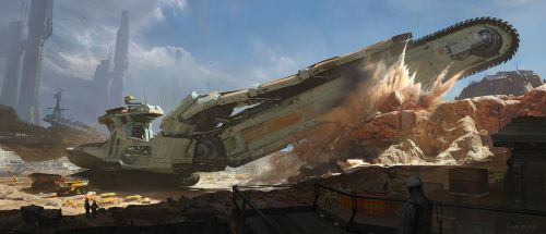 INROAD Trencher by fmacmanus