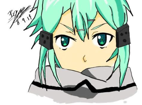 Sinon drawing by AustralianWolf