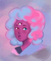 Cotton Candy Garnet by Layla-Chan96