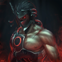Blackwatch Genji by raikoart