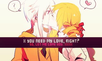 PMMM | You need my love, right? by xOneSing