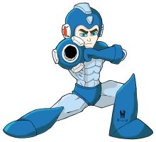 Megaman2 Colors by TheGreenCount