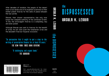 Book Cover - The Dispossessed by banzaisebastian