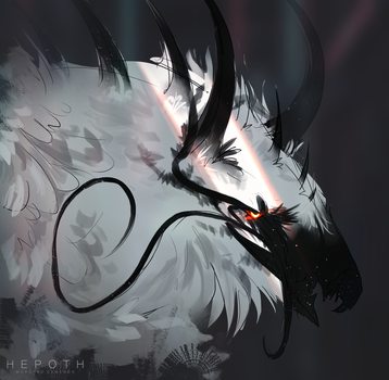 Mort With Horns by Hepoth