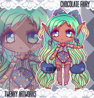 ADOPT: Chocolate Fairy - OPEN! by ichiipanpan