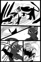 Shadow claw vs Shadow frost finale manga page 6 by ShadowClawZ