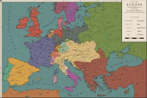 Europe 1813: The Congress of Frankfurt by Saluslibertatis