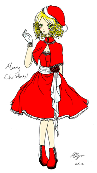 Christmas Outfit 2012 by mizu44contestshipper