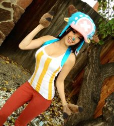 Tony Tony Chopper One Piece Cosplay by VampBeauty