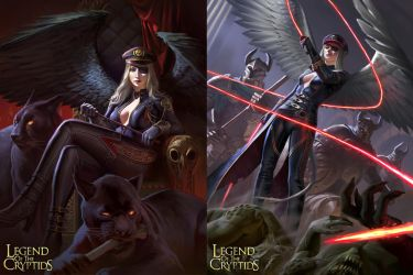 Legend of the Cryptids: Demoness General by KangJason