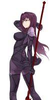Scathach by Eyesonly304
