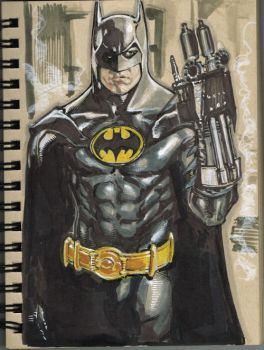 Batman 1989 by Kevin-Sharpe
