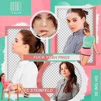 Pack png - Hailee Steinfeld. by ValentinaDontiWanna