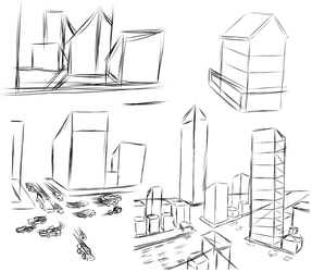 8.17.17 Background Sketches by shadowlord19