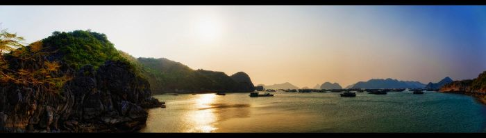 The Colours of Halong Bay by WiDoWm4k3r