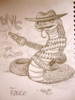Jake from RANGO by arystar