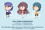 [Commission Info] Tiny Chibis by Noir-Gladia