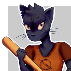 Mae redraw by FeatherFrames