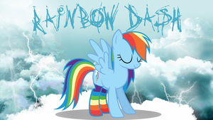 Rainbow Dash Wallpaper by Sonork91