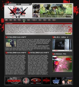 Paintball Madness Layout by King-Billy