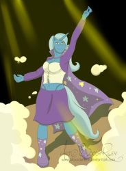 Equestrian Heroes Trixie Arrives! by TheRealKyuubi16